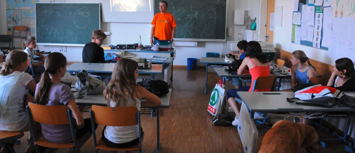 Tierschutz im Unterricht